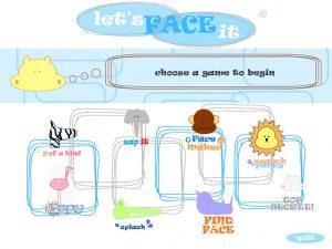 Let's face it, serious game emotieherkenning bij anderen, autisme